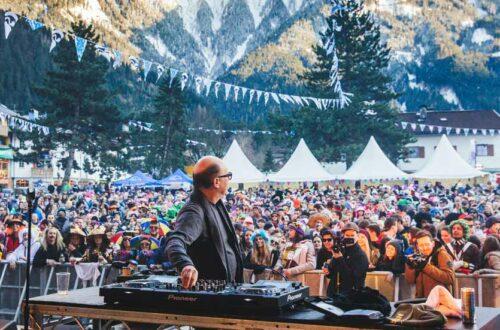 Snowbombing Zillertal Street Party