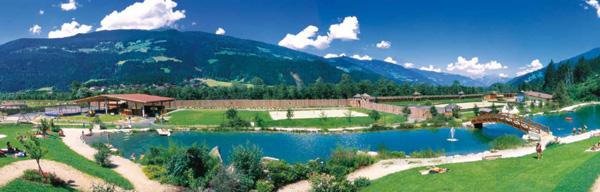 Badeteich-Anlage Freizeitpark Aufenfeld
