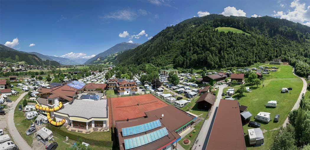 Camping Aufenfeld Resort in Aschau
