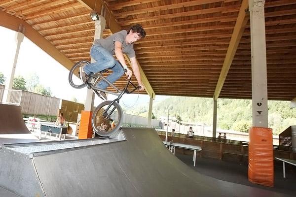 Skater-Rampe im Resort Aufenfeld