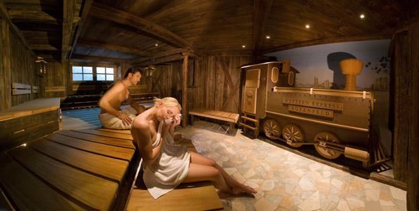 Finnische Sauna Wellness Tirol