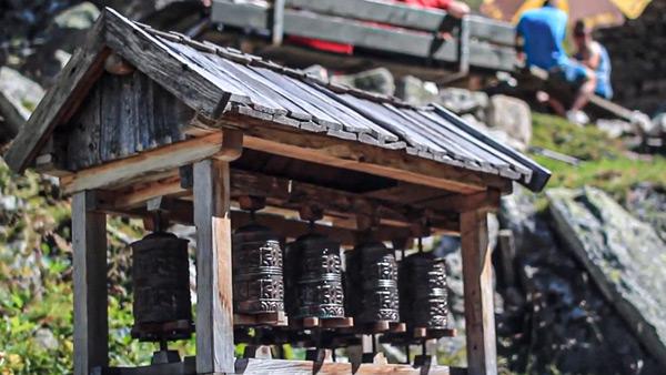 Gebetsmühlen Klein Tibet im Zillertal