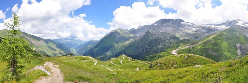 Panorama Ausblick Berge