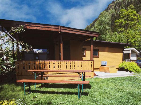 Hütte Zillertal Ansicht von vorn