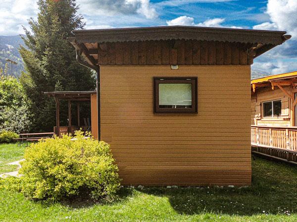 Seitenansicht Hütte Zillertal