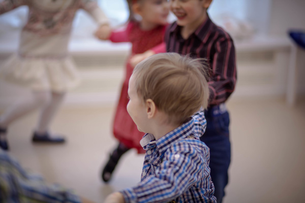 Kinderanimation Gruppe Kinder