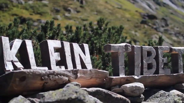 Holzbuchstaben Schriftzug Klein Tibet