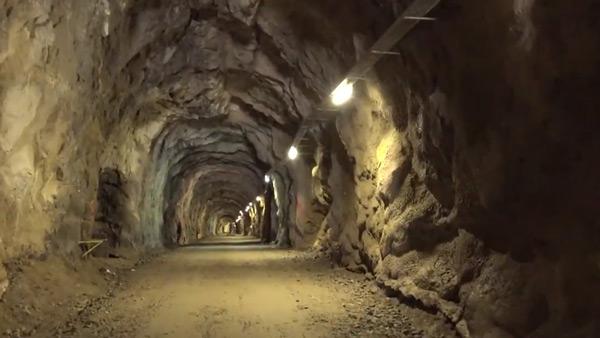 Tunnel an der Zillergrund Staumauer