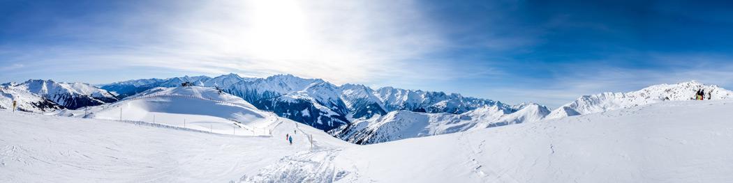 Panorama Skigebiet Zillertal