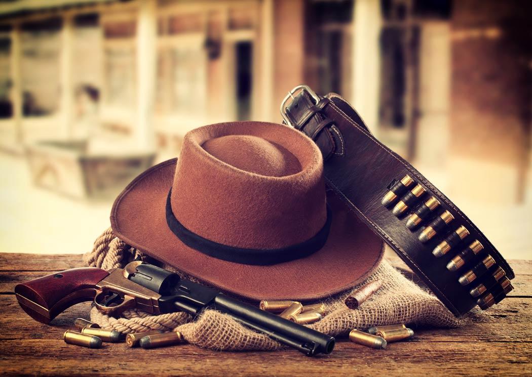 Cowboy typische Accessoires