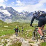 Radtour durch die Berge